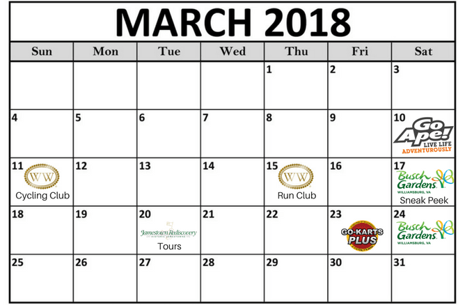 Calendar with reopenings