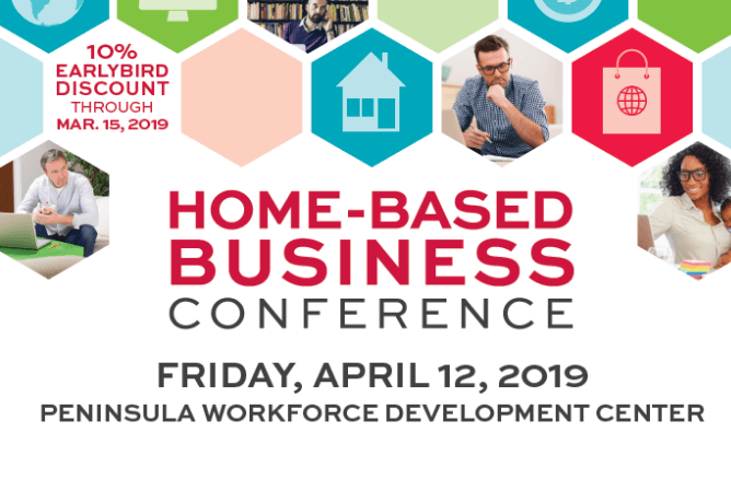 Home-based business conference flyer