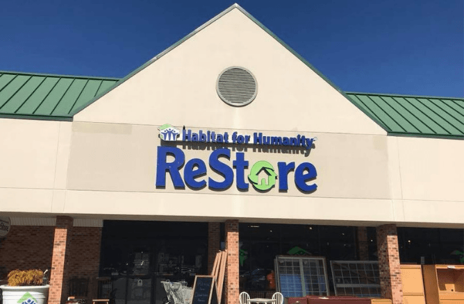 Habitat for Humanity ReStore Williamsburg storefront