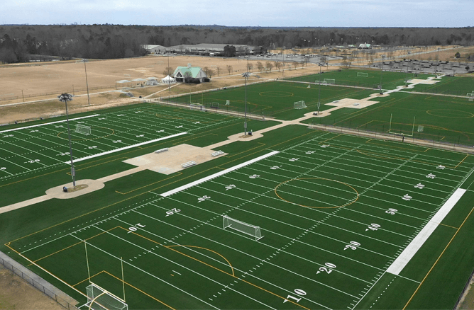 Replacement Fields at Warhill Sports Complex