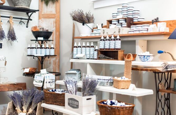 Sweethaven Mercantile Shop photo by Lindsey Lyons Photography