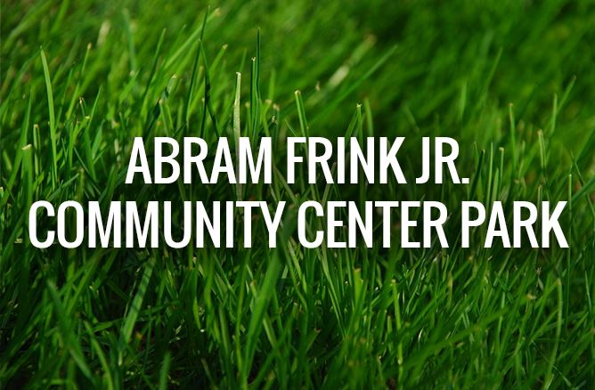 Abram Frink Jr. Park Graphic