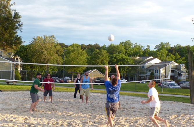 Volleyball at Mid County Park
